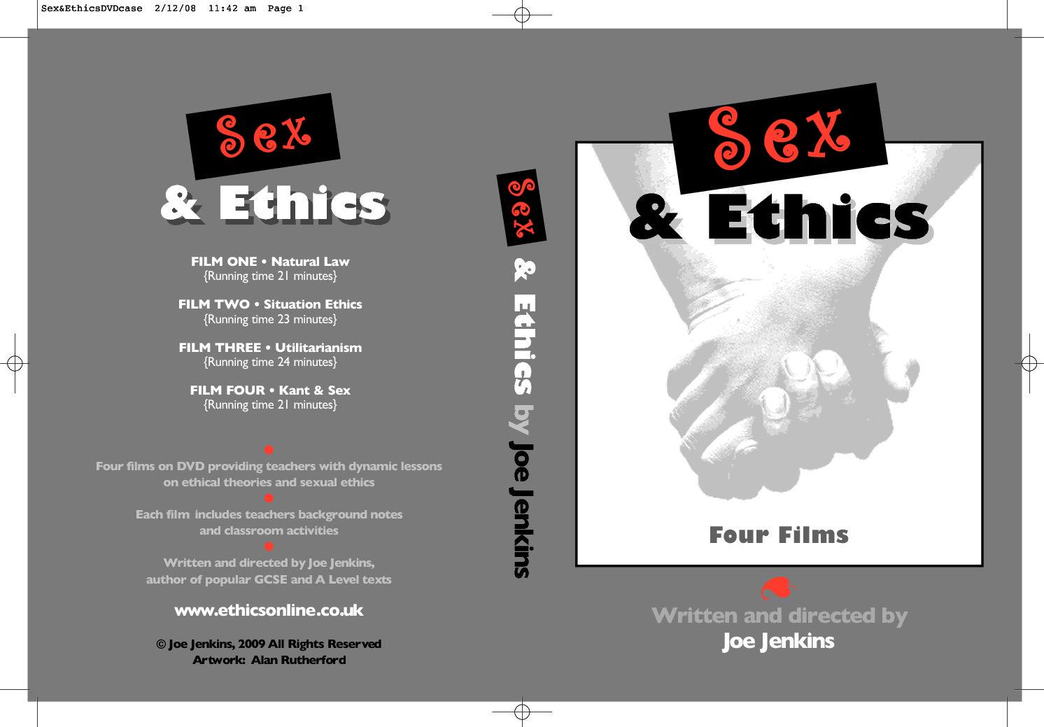 Sex&EthicsDVDcasec